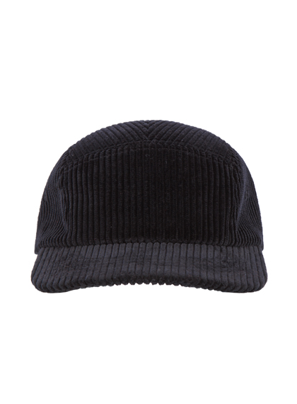 Remember Corduroy Campcap (Black)