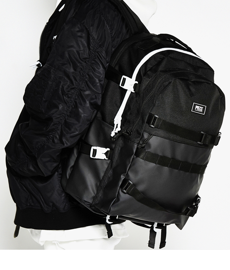 R2G PRO BACKPACK (BLACK WHITE)