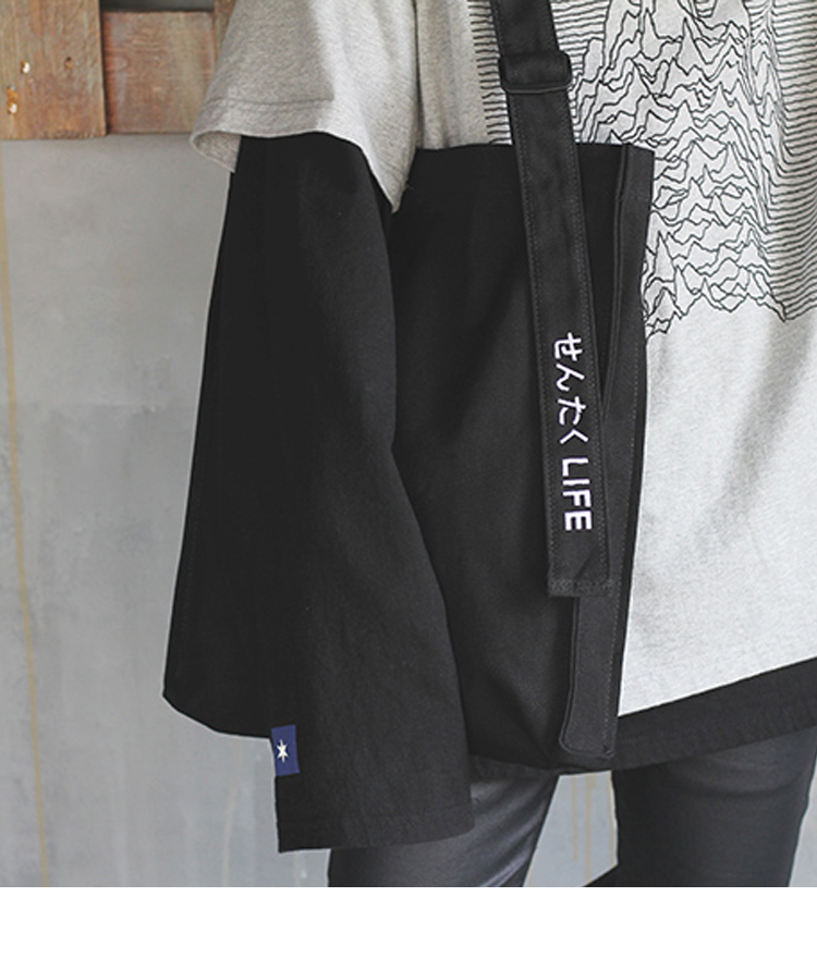 SENTAKU LIFE SHOULDER&TOTE BAG (BLACK)
