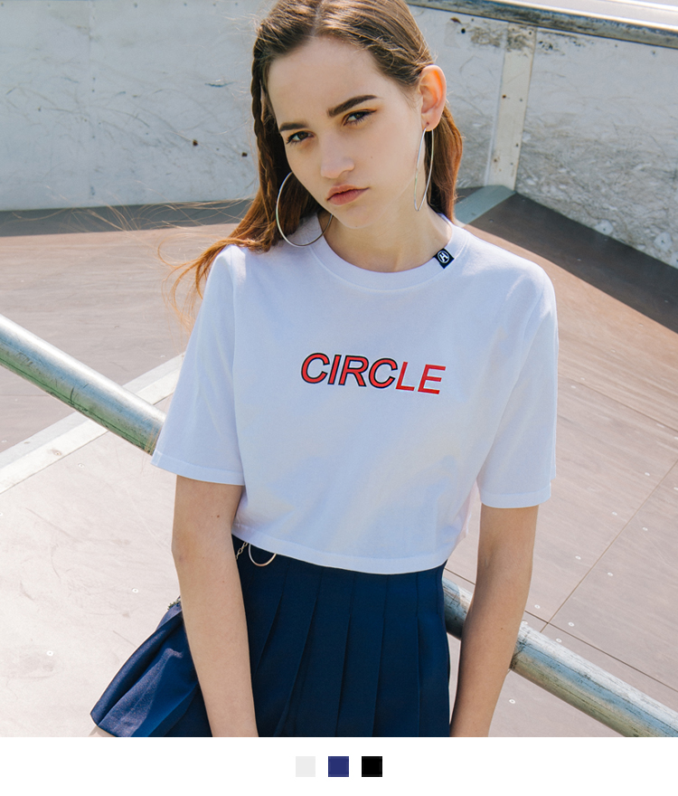 HIDE Circle Crop Top