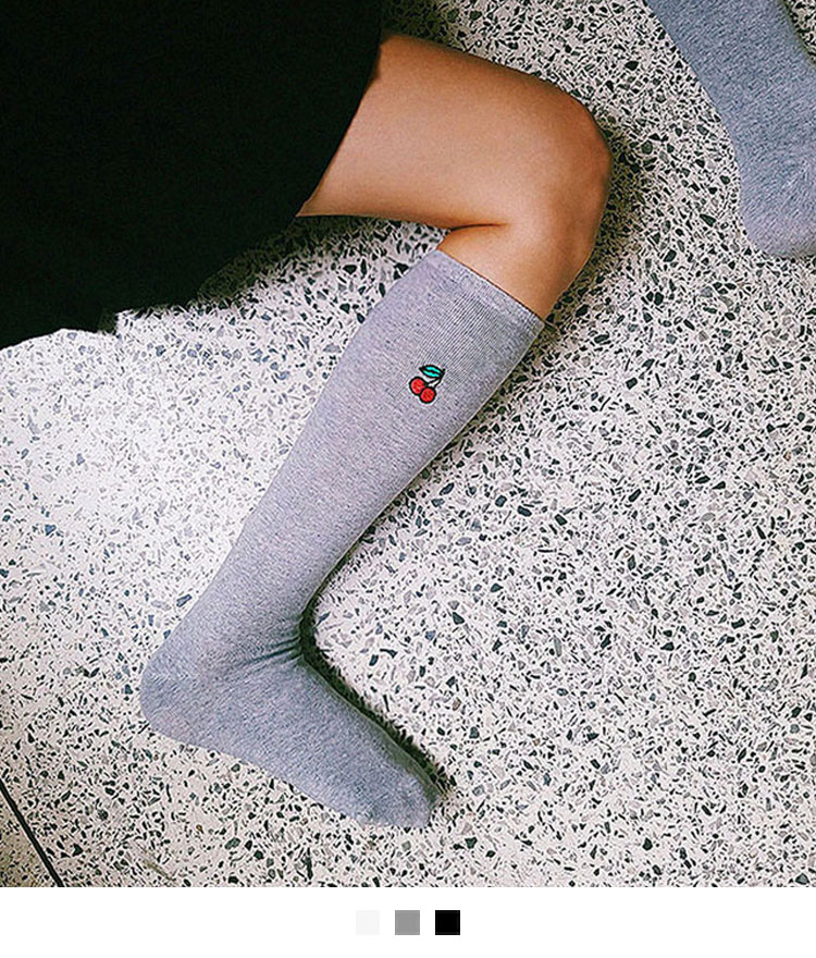 Cherry Knee socks