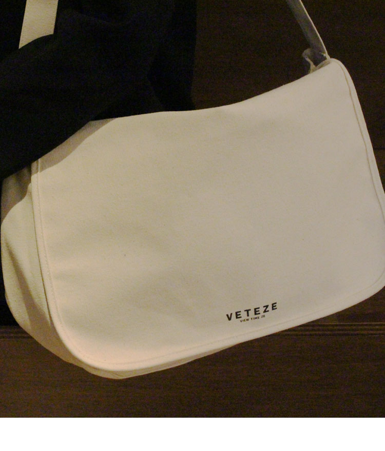 Eco Logo Messenger Bag - IV