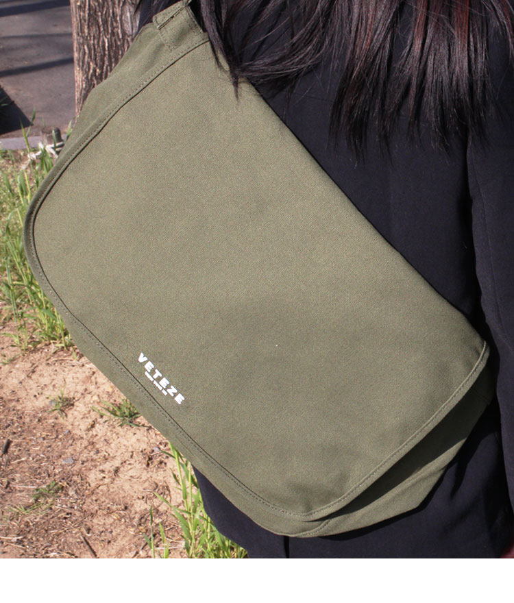 Eco Logo Messenger Bag - KK