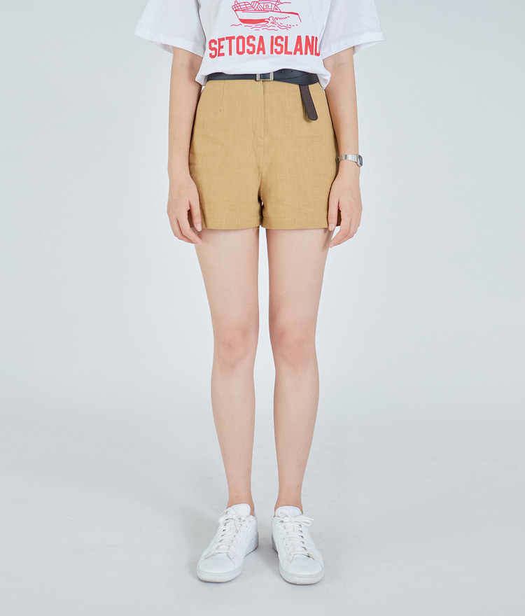 Yes Linen Shorts