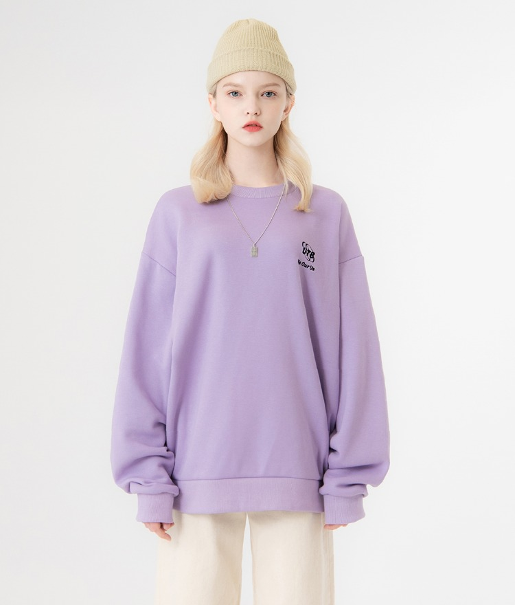 UT8 Street Sweat Shirt (Light Purple)