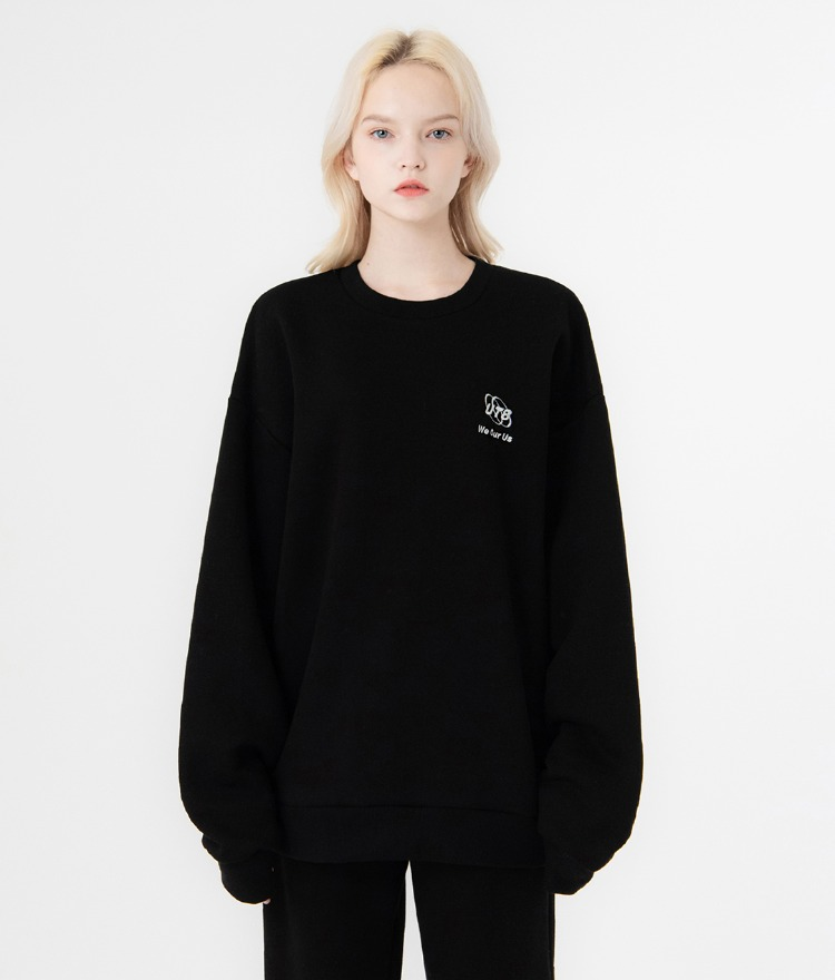 UT8 Street Sweat Shirt (Black)
