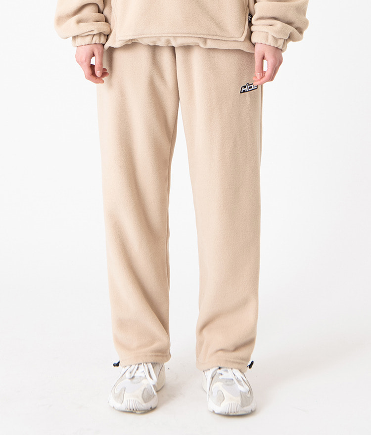 HIDE Future Fleece Pants (Beige)