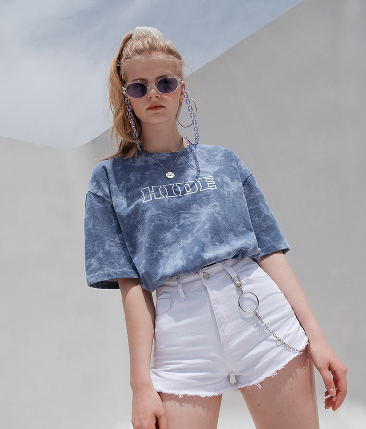 HIDE Tie Dye T-Shirt (Vintage Blue)