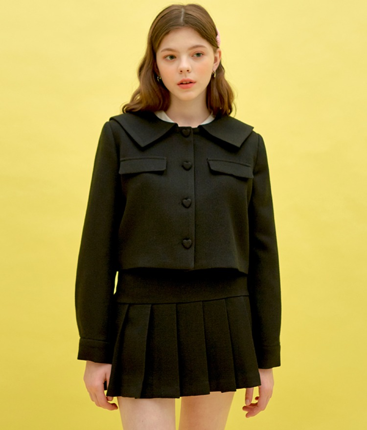 Heart Sailor Jacket (Black)
