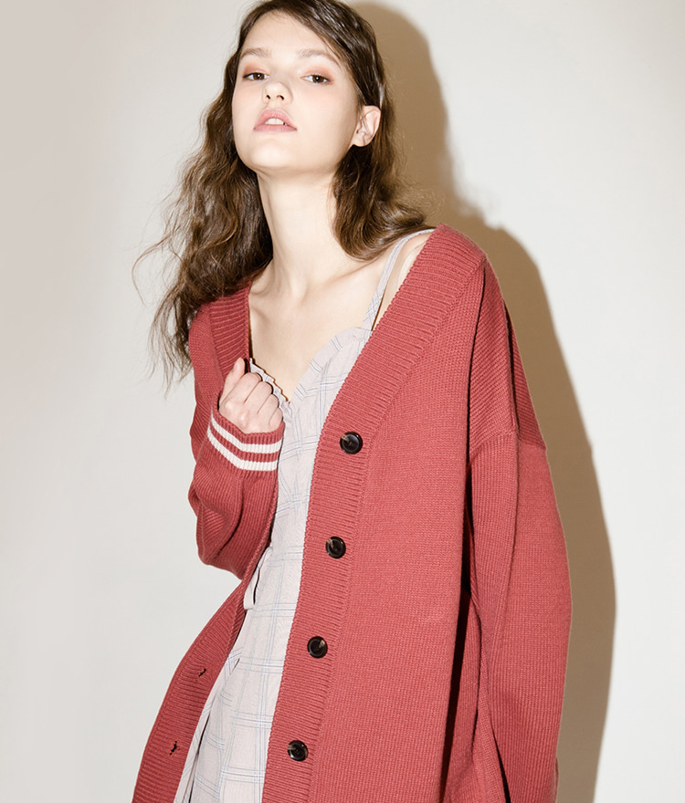 SEEK Oversize Knit Cardigan Jacket